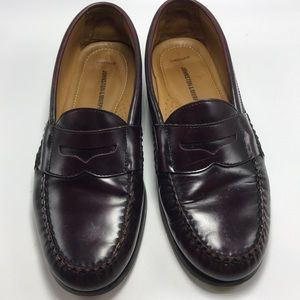 Johnston & Murphy Cordovan Penny Loafers Size 9.5